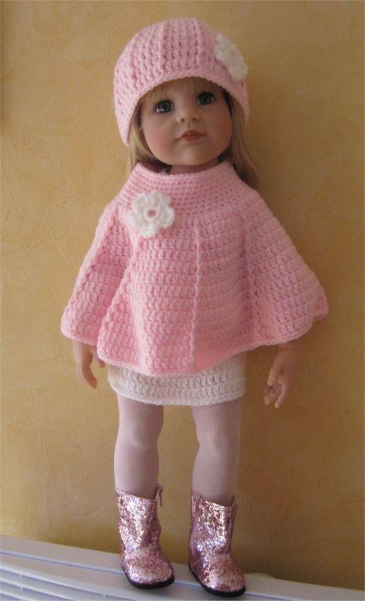 111- FICHE PATRON CROCHET Tenue Perceneige pour poupée Hannah de Götz : Jeux, jouets par atelier-crochet