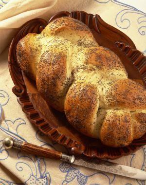 Poppy seed challah bread - Google Images/Spencer Jones/Photolibrary