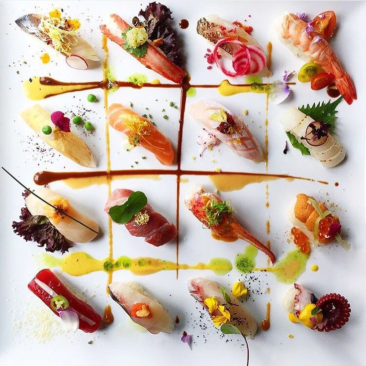 Hey #sushi lovers! How about this by @chefjohn #TheArtOfPlating