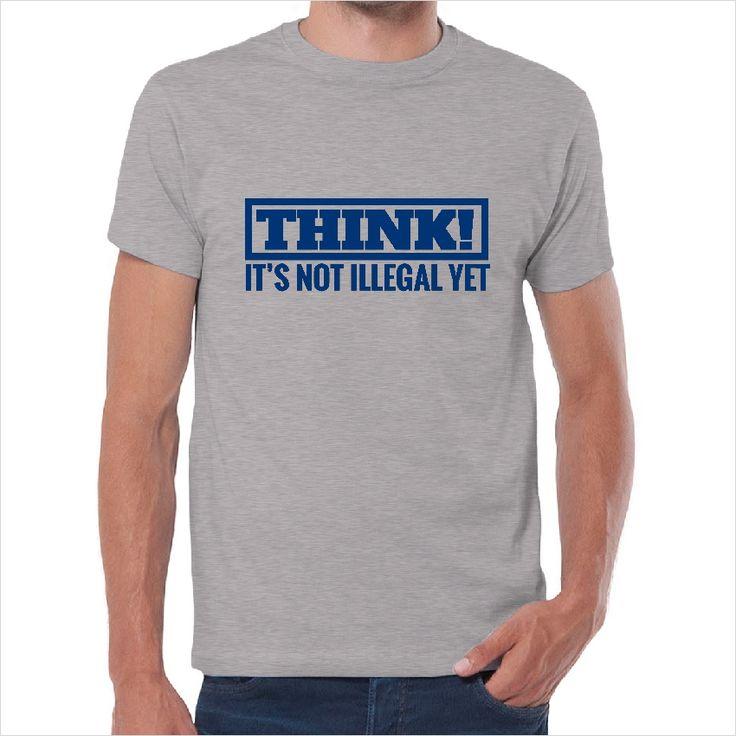 Camiseta think is not illegal