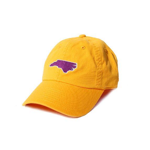 North Carolina Greenville Gameday Hat Gold, $25