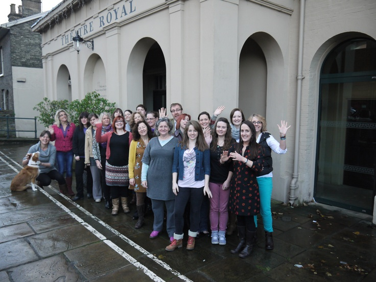 The whole team at the Theatre Royal