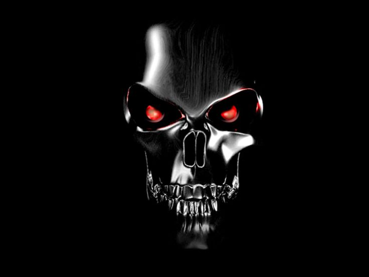 Pix For > Harley Davidson Skull Wallpaper Hd