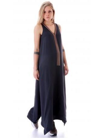 Brunello Cucinelli - Precious Lariat cady Luxury long dress