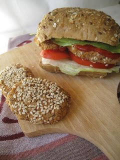 Szybkie gotowanie: Wege-burgery (kotleciki) z ciecierzycy