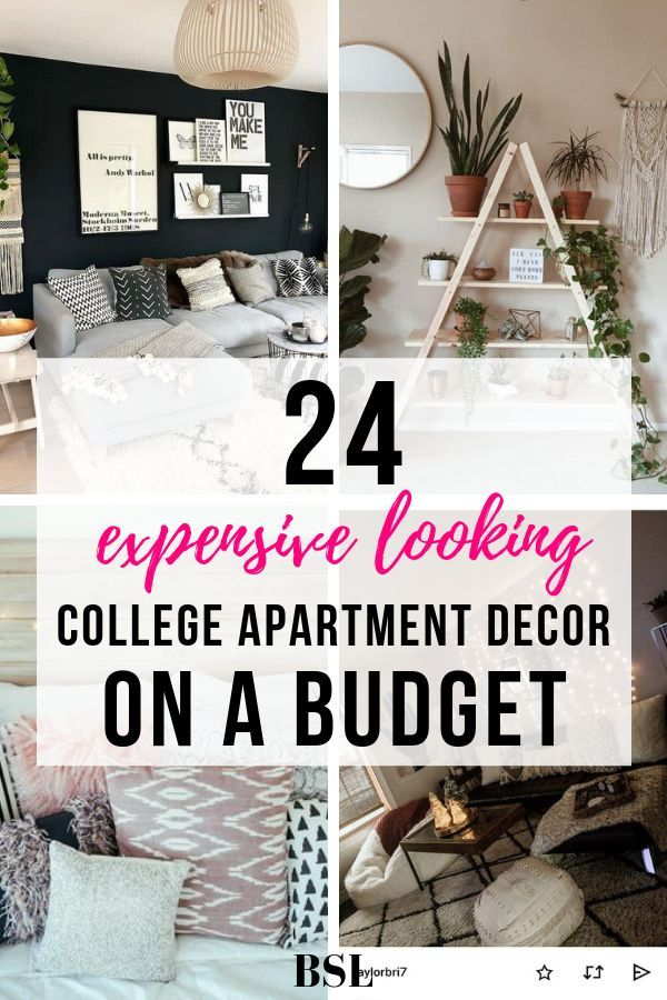24 Genius College Apartment Decorating Ideas On A Budget With