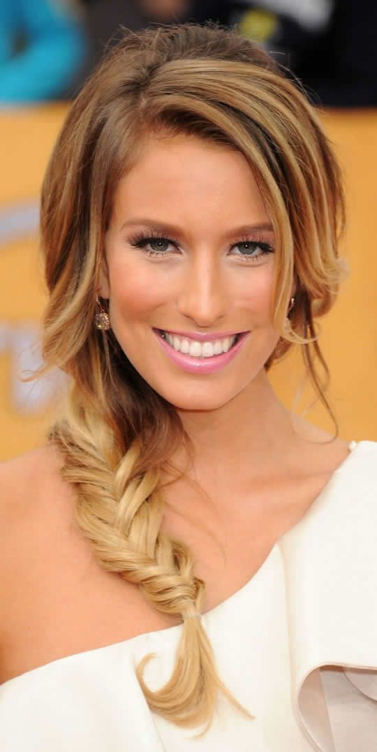 peinados con trenzas - Google Search #fishtail #braid