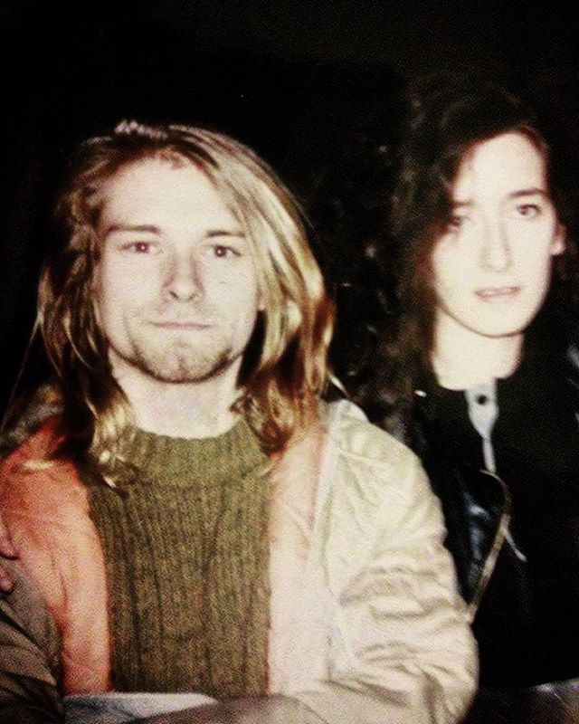 Kurt Cobain in Mezzago, Italy. November 26th, 1989