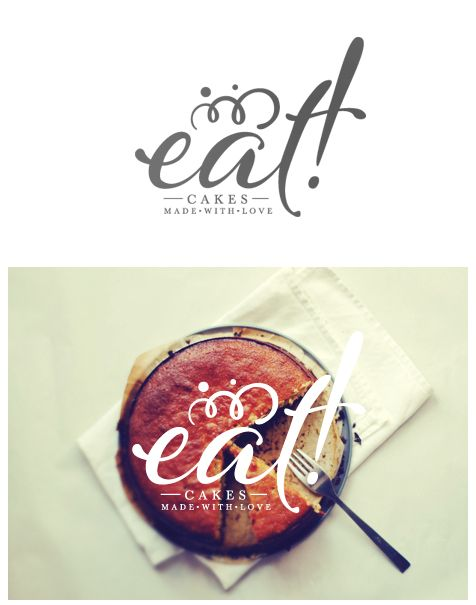 eat! cakes made with love - gorgeous lettering and illustration work - Federica Bonfanti