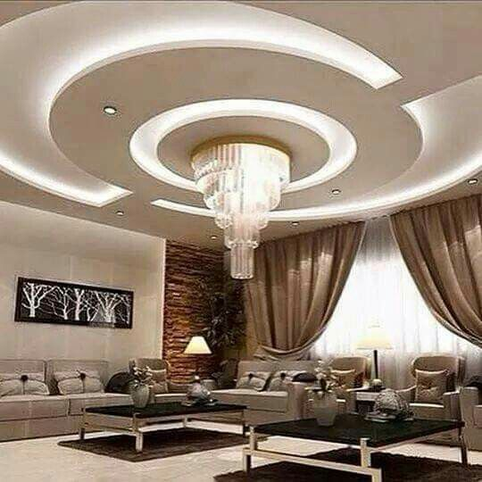 New Ideas For False Ceiling Designs For Living Room And Hall With Best  Ceiling Lighting Ideas, How To Choose Suitable False Ceiling Design 2018  For Your ...
