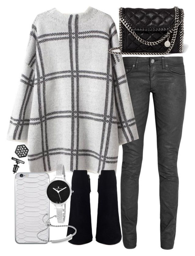 """Untitled #18890"" by florencia95 ❤ liked on Polyvore featuring Acne Studios, STELLA McCARTNEY, Christian Van Sant, Monica Vinader and Simply Vera"