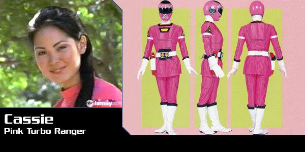 Cassie Chan (Pink Turbo Ranger) - Power Rangers Turbo | Power Rangers Central