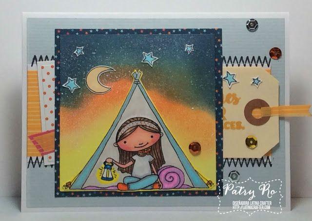 2x4 Bordes de costuras; 3x4 Camping Girl; 4x6 Be the light; http://artemanual-scrap.blogspot.com/2015/12/camping-girl-sketch-54-de-latina-crafter.html;