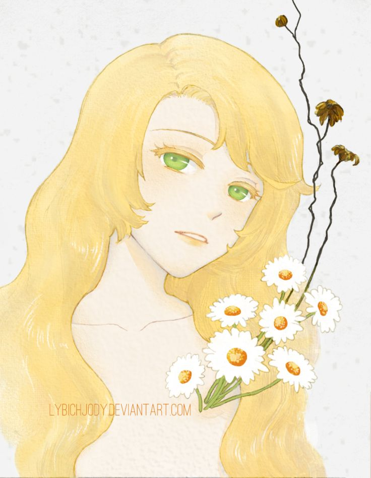 Flower:Mental (by lybichjody, Rika, Mystic Messenger)
