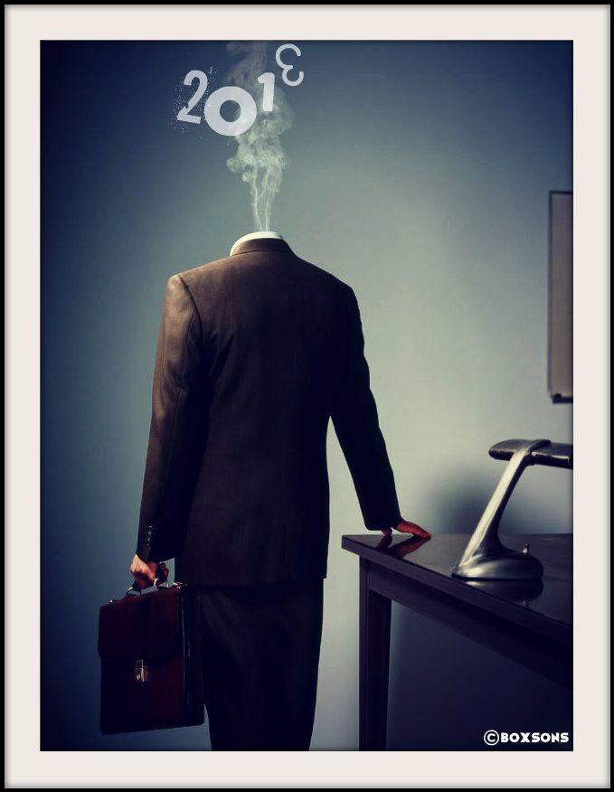Visuel by Boxsons ... #homme #man #smoke #business #desk #vintage #happynewyear #newyear #2013 #2014