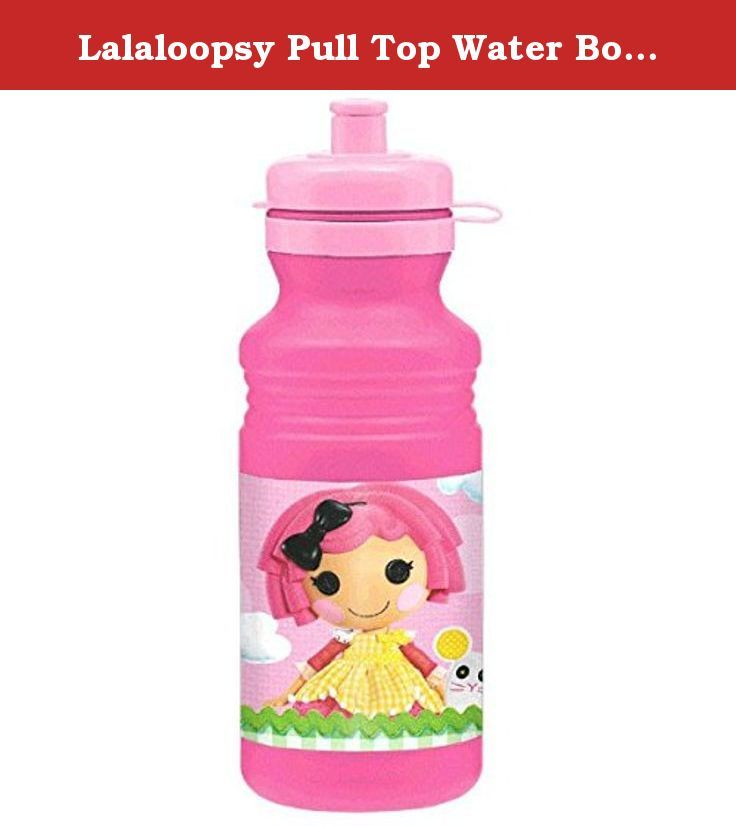 Lalaloopsy Pull Top Water Bottle Birthday Party Favour (1 Piece), Pink, 18 oz. Pink and plastic it's FUN-tastic! Every girl will definitely love our Lalaloospy Pull Top Pink Water Bottle. Perfect for indoor or outdoor use. This is an ideal party giveaway to your little girl's party.