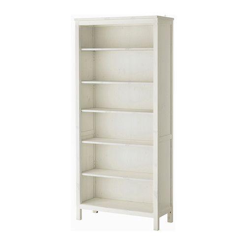 ХЕМНЭС Стеллаж - белая морилка - IKEA
