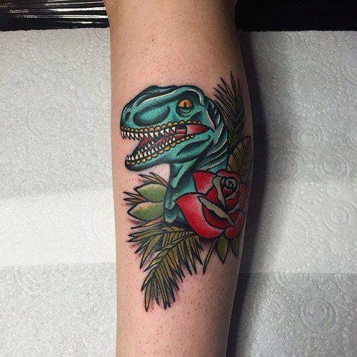 Jurassic Park Velociraptor Skeleton Tattoo Die besten 25+ ...