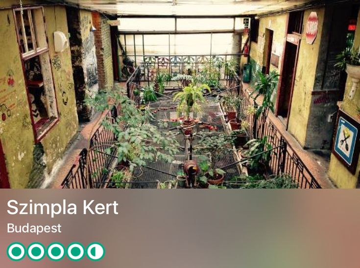 https://www.tripadvisor.co.uk/Attraction_Review-g274887-d668397-Reviews-Szimpla_Kert-Budapest_Central_Hungary.html?m=19904