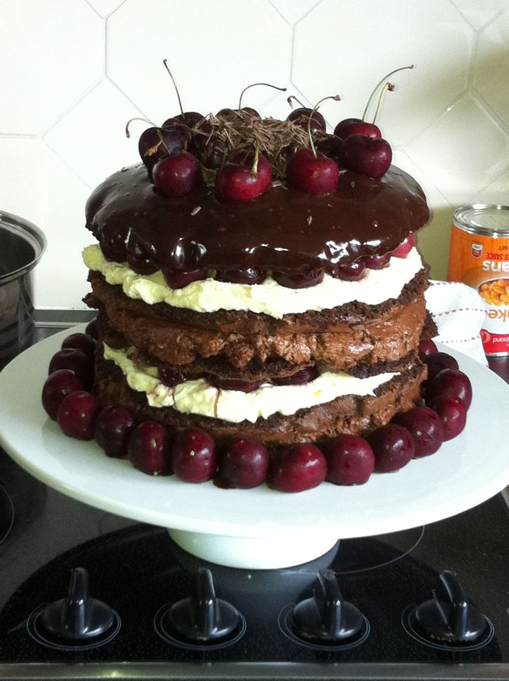 Black Forest (Master Chef Australia style)