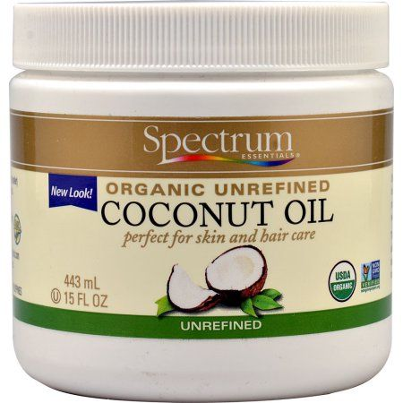 Spectrum Organic Unrefined Coconut Oil, 15.0 FL OZ