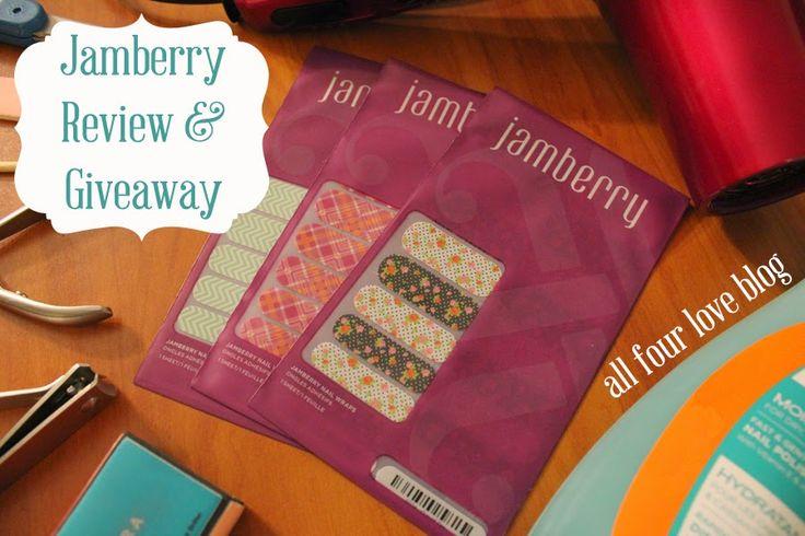 http://www.allfourloveblog.com/2014/07/Jamberry-Review-Giveaway.html