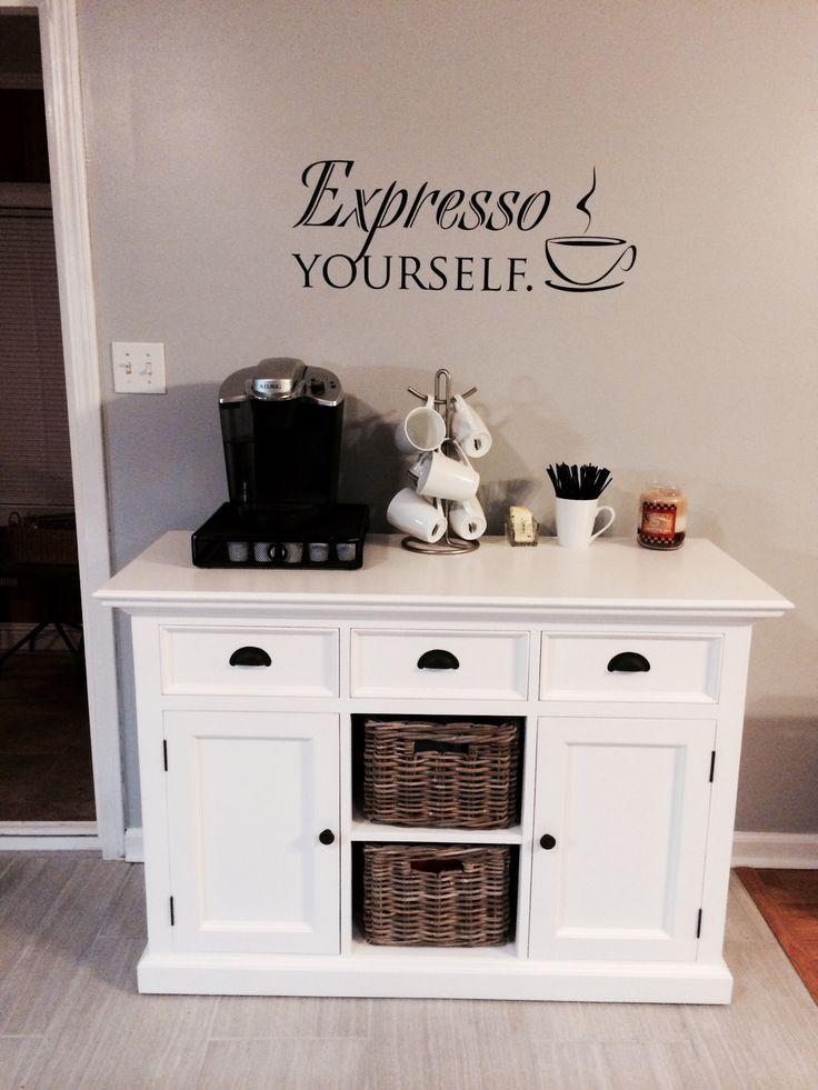 My kitchen coffee nook