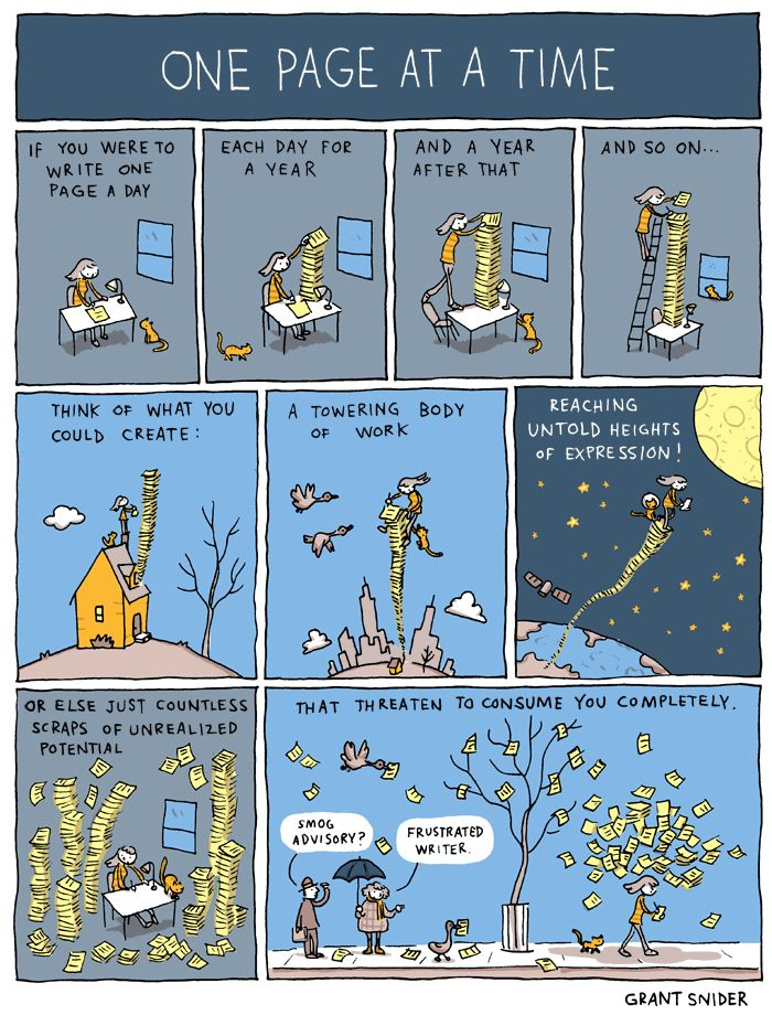 INCIDENTAL COMICS: One Page at a Time