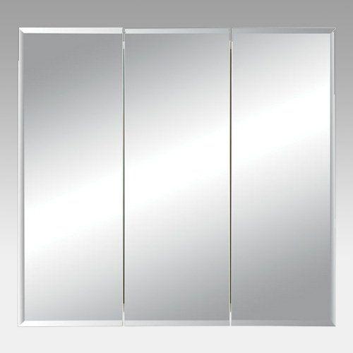 Have to have it. Broan-Nutone Horizon Triple Door 30W x 28.25H in. Surface Mount Medicine Cabinet 255230 - $319.81 @hayneedle