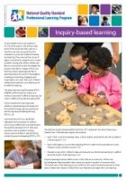 This is an exceptional article covering inquiry based learning, a must read!
