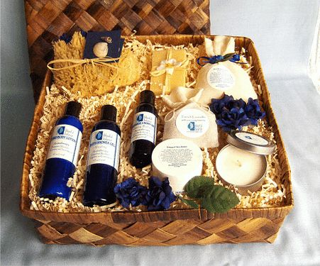 Just Because Spa Gift Basket: Just because I love you, just because you're you, just because you deserve it... give this wonderful spa gift basket to cleanse, stimulate and invigorate to someone very special. Surprise them with a pampering and luxurious spa sanctuary in their own home.  http://www.blissfulbalance.com/just-because-spa-gift-basket/