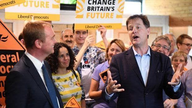 "Watch: Nick Clegg joins Tim Farron to support the Liberal Democrats' stance on Brexit Sitemize ""Watch: Nick Clegg joins Tim Farron to support the Liberal Democrats' stance on Brexit"" konusu eklenmiştir. Detaylar için ziyaret ediniz. http://xjs.us/watch-nick-clegg-joins-tim-farron-to-support-the-liberal-democrats-stance-on-brexit.html"