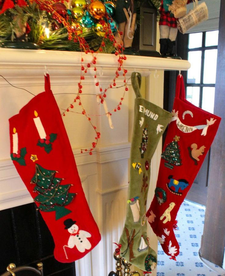 sSn's Heirloom stockings