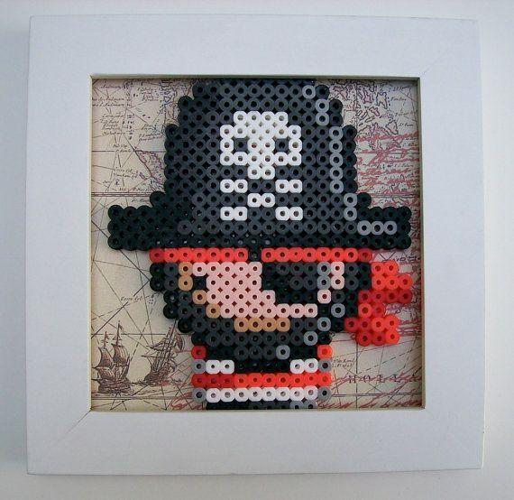 Pirate perler beads