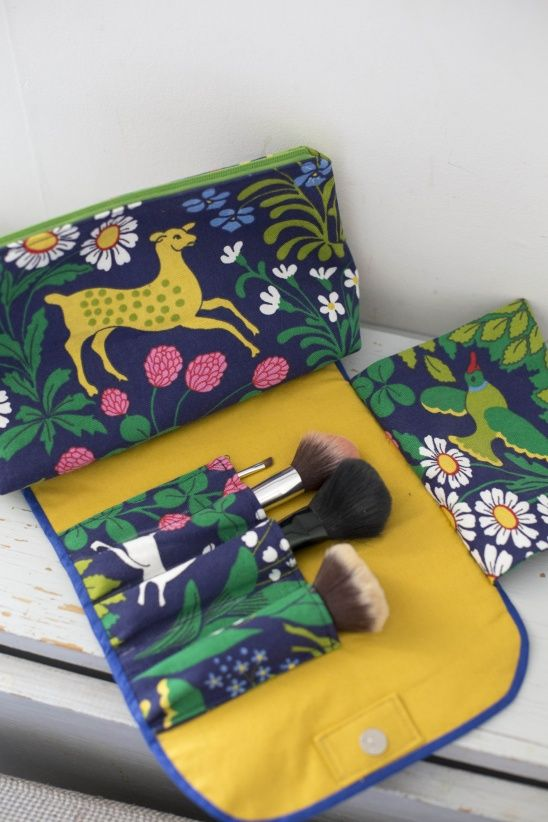 Makeup bag by Clara Falk | Project | Sewing / Bags & Purses | Kollabora