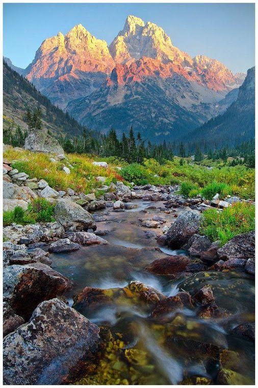 Grand Teton National Park, Wyoming. +My Style