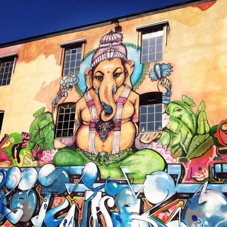 Streetart in Apeldoorn
