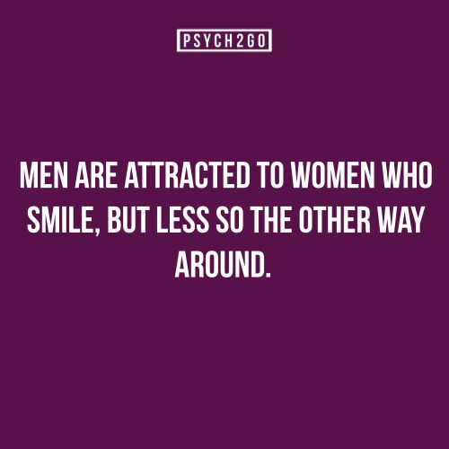9 Facts About Attraction -- hmmm, I like men who smile...