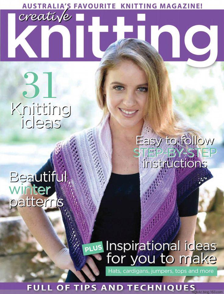 Creative Knitting №57 2017 - 轻描淡写 - 轻描淡写