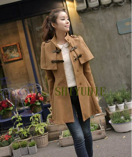 0dc7d5022 2012 woolen slim woolen overcoat medium long overcoat outerwear ...
