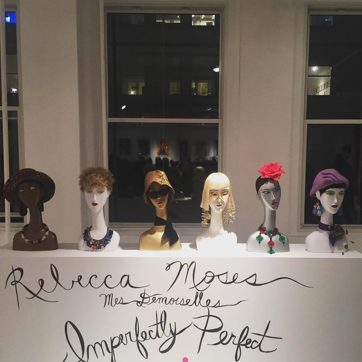 """REBECCA MOSES, New York, """"Imperfectley Perfect"""", for Ralph Pucci International, New York, pinned by Ton van der Veer"""