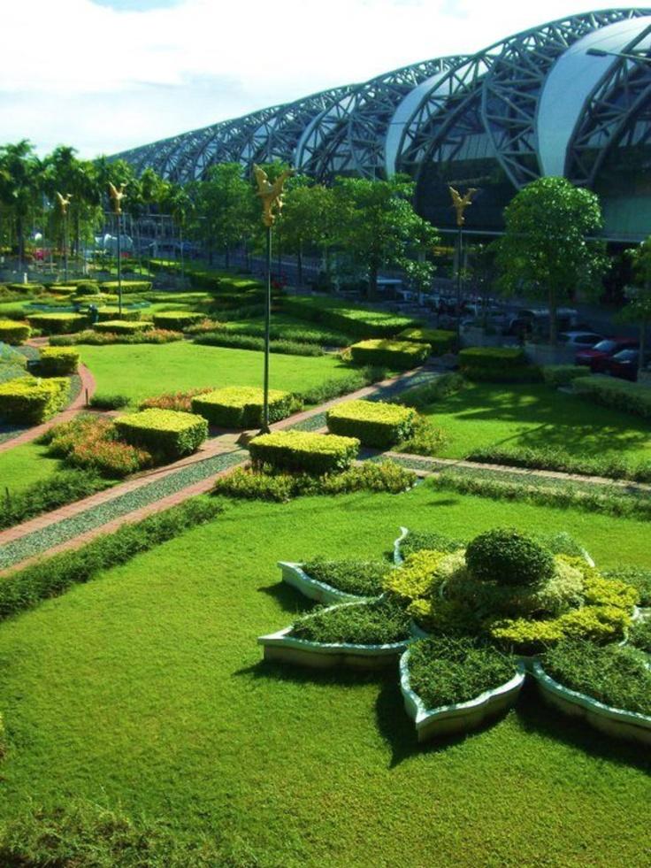 Bangkok airport Airport design, Bangkok tourist