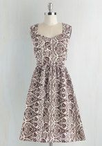 Modcloth Gone Stamping Dress by Mata Traders; size XL; NWT; $30 shipped