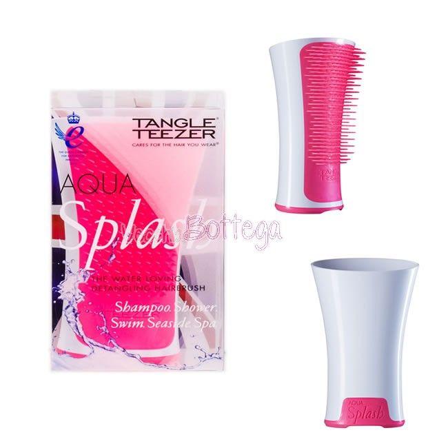 Tangle Teezer Acqua Splash - Aqua Splash è la spazzola di tangle Teezer perfetta da usare sotto la doccia. Districa con facilità i capelli e distribuisce il balsamo uniformemente migliorandone sensibilmente l'azione. #AcquaSpalsh #Tangleteezer #vecchiabottega #spazzolacapelli #negoziobio