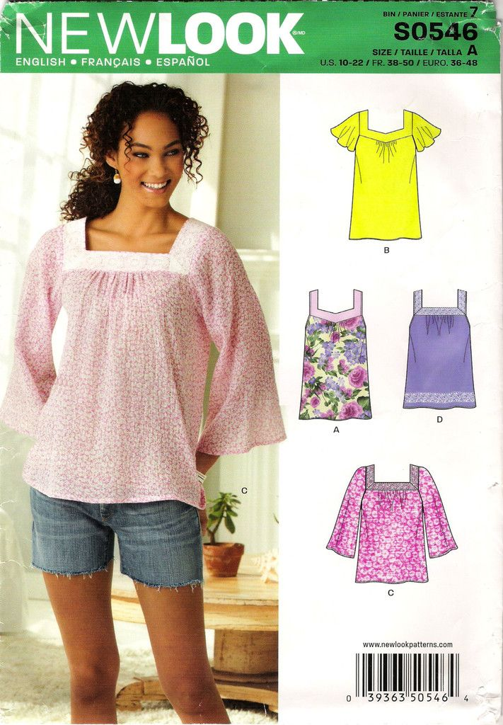 136 besten New Look Women\'s/Misses\' Sewing Pattern Collection ...