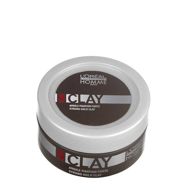 Loreal Homme Clay Wax 50 ml - Güçlü Tutucu Mat Wax  Sert tutuculuğa sahip mat waxtır. Saça doğal bir mat görünüm vererek saç şeklini uzun süre muhafaza eder. Güzel kokusu tüm gün saçta kalır. Kalıntı ve tortu bırakmaz. Özel bir şampuana gerek duyulmadan kolayca saçtan arınır. Uygulama Şekli  Kuru saça uygulanır. Durulanmaz.