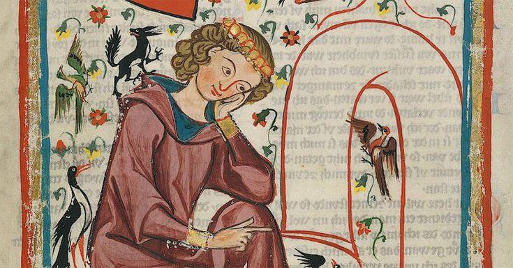 1150-1200 (ca.)  Hendrik van Veldeke, de eerst bekende Nederlandse dichter die in de volkstaal schreef