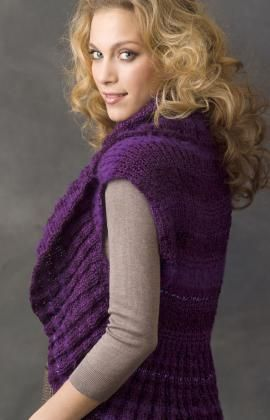 Ribbed Shrug http://www.redheart.com/files/patterns/pdf ...