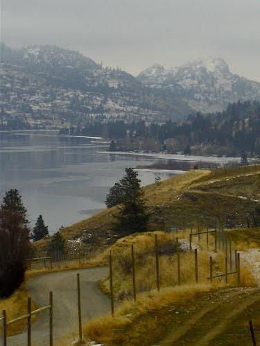 Winter on Skaha Lake
