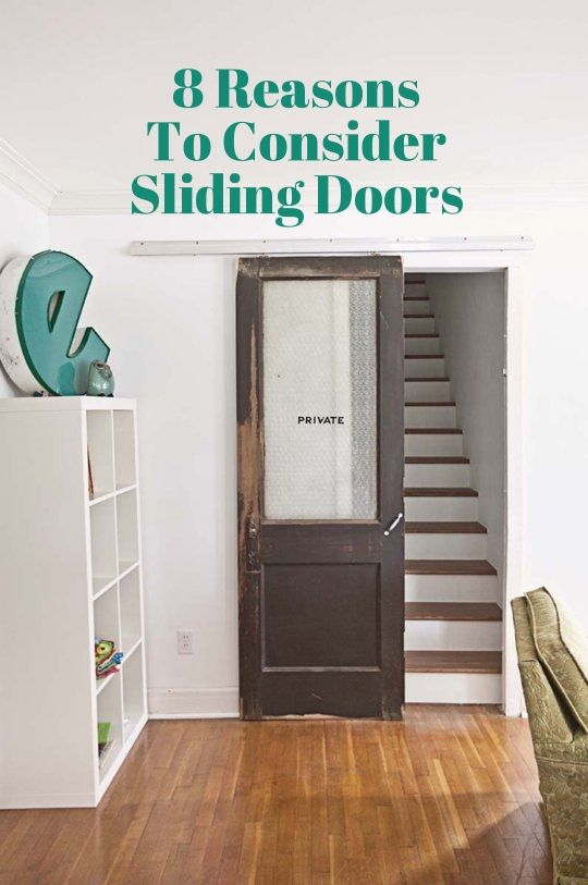 8 Reasons to Consider Sliding Doors Instead | Apartment Therapy